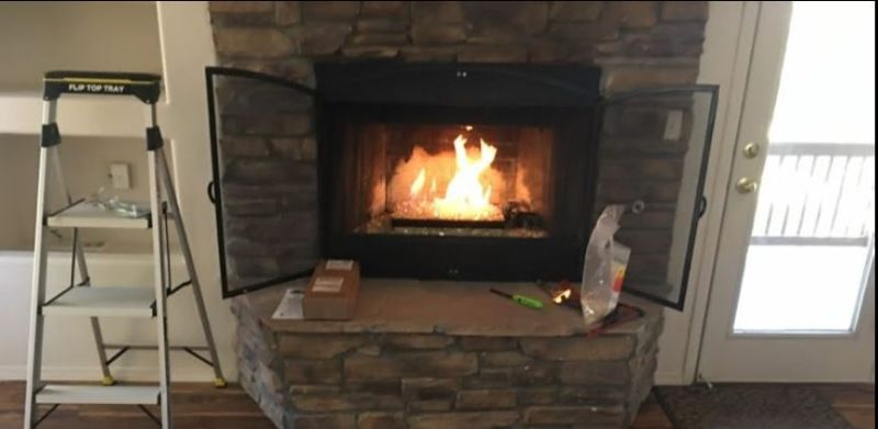 Chimney Clean Chimney Repair Chimney Inspection All Fireplace Repair 35
