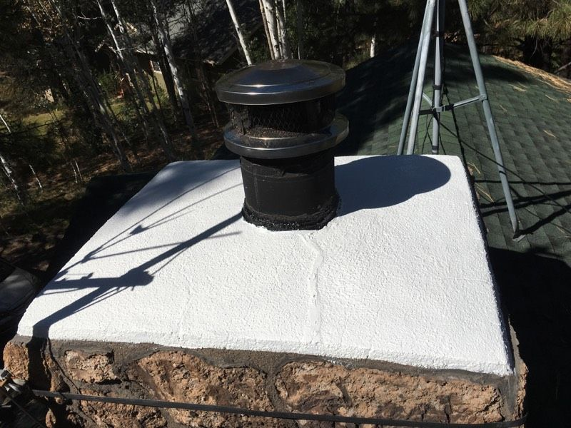 chimney chase and crown construction Gold Cap LLC
