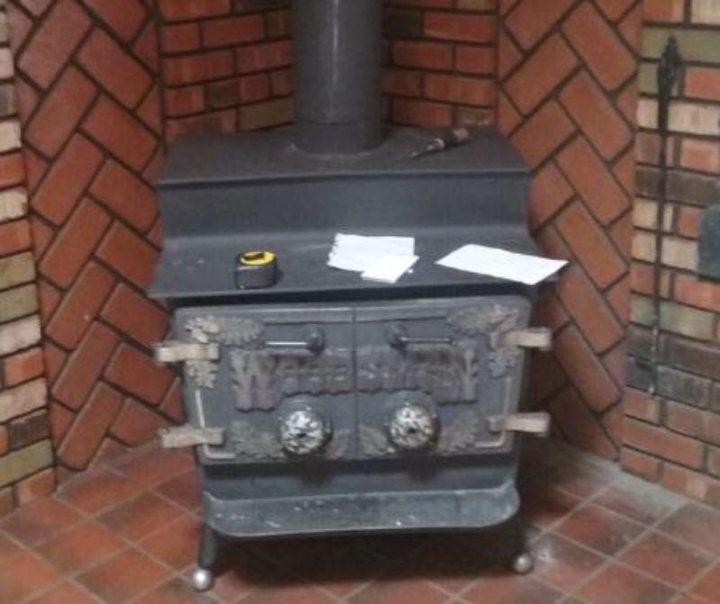 woodstove chimney sweep and restoration