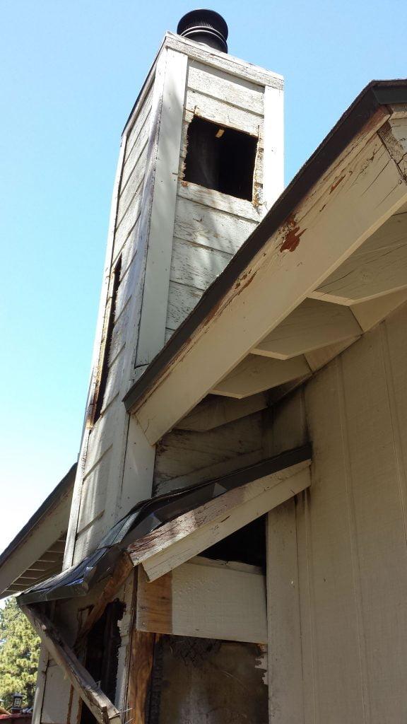 chimney repair white mountains arizona gold cap chimney sweep 928 358 7079