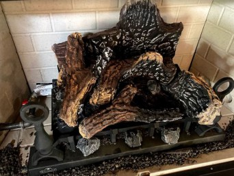gas fireplace gas logs for sale